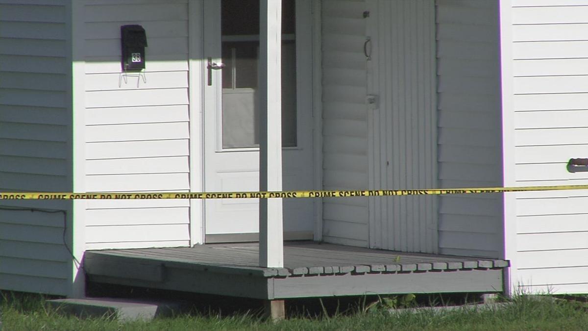 New Albany death investigation scene