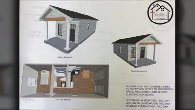 Tiny homes created for veterans in Shelbyville
