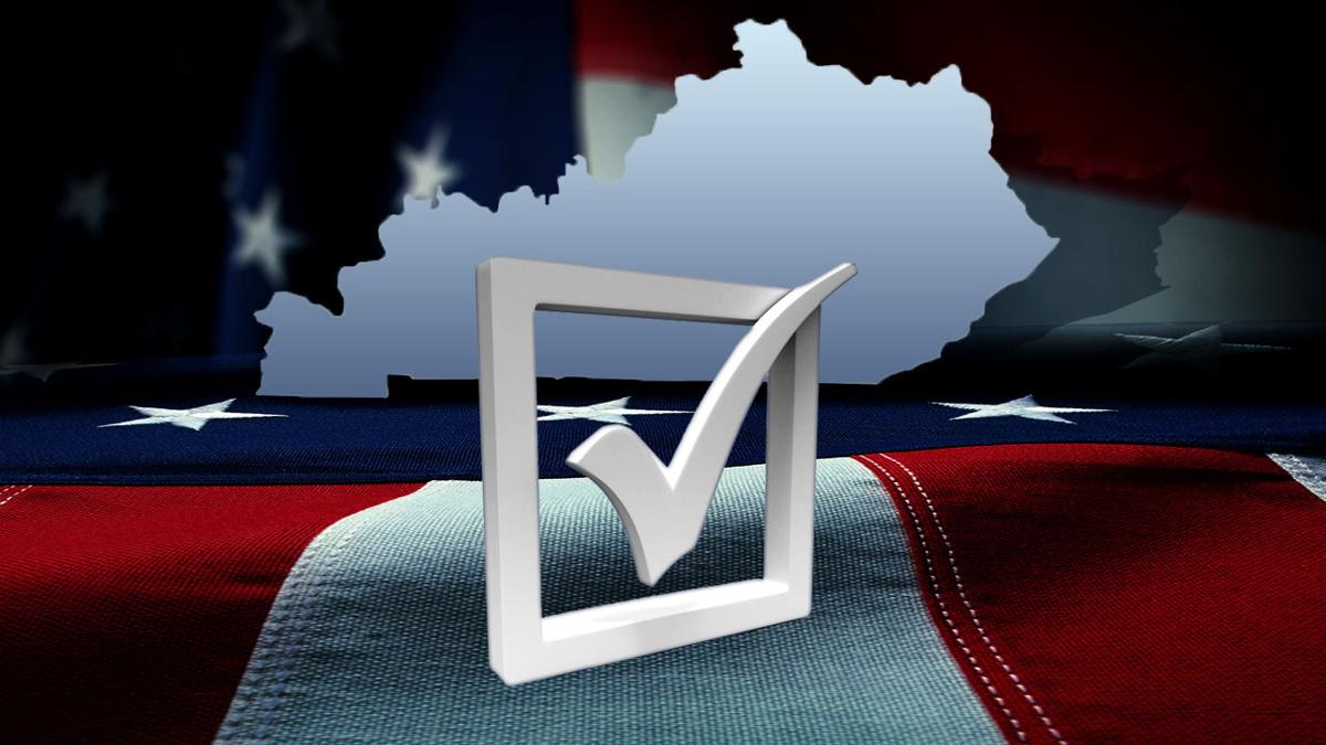 Kentucky Primary Election Results - graphic file