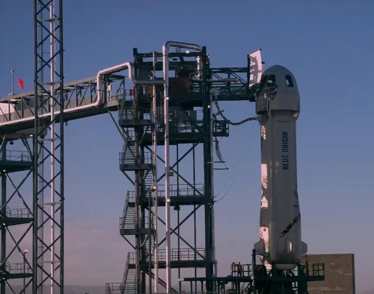Blue Origin Shatner Launch