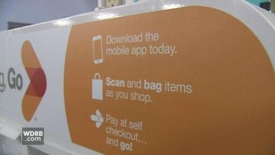 Kroger's new 'Scan, Bag, Go' technology is designed to help shoppers