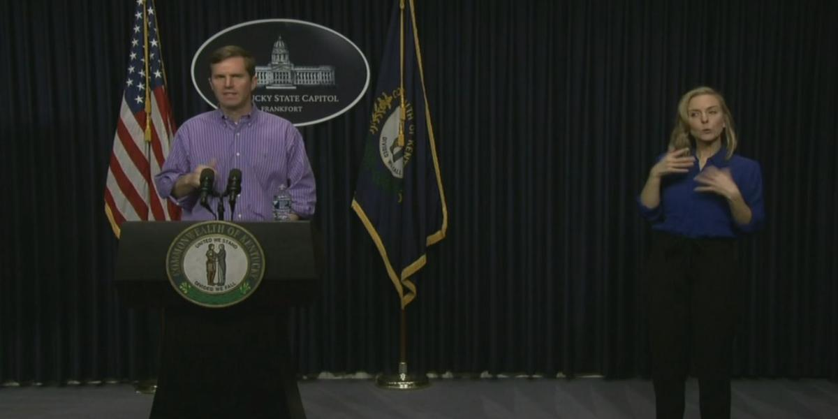 Gov. Andy Beshear during COVID-19 presser (3/21/20)