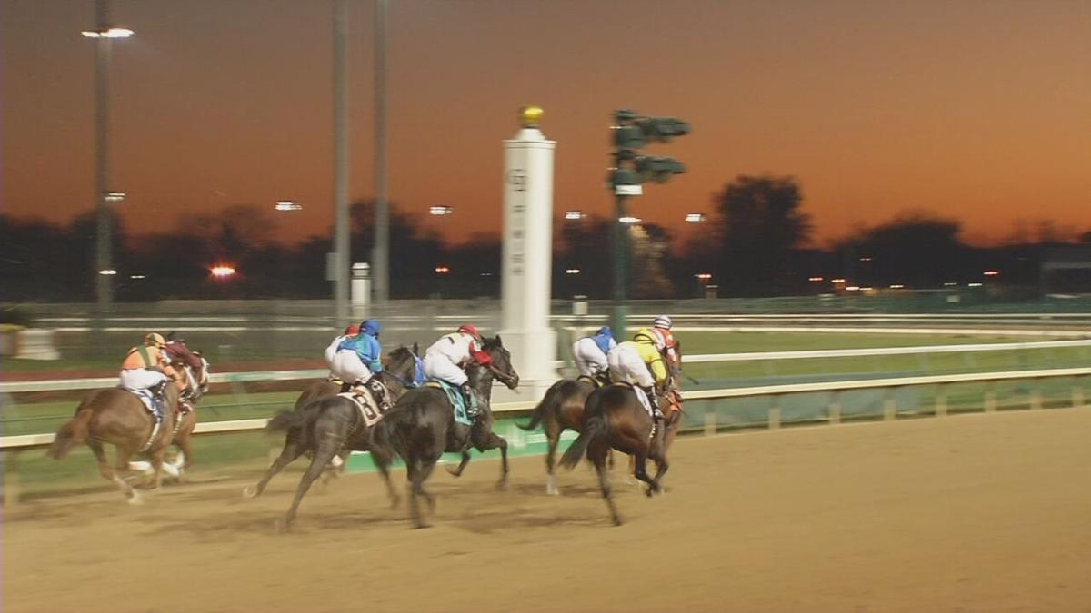 file image of horse race at Churchill Downs