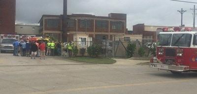 Authorities respond to HAZMAT situation at LMPD property room