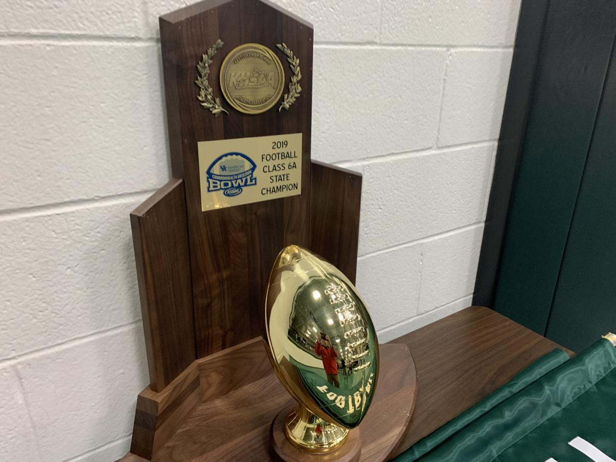 TRINITY TROPHY - 2019 State Football Champs