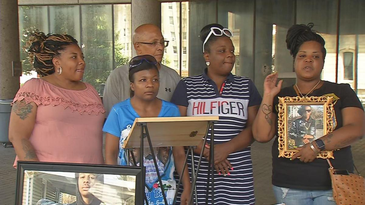 Three mothers, one sister of recent Louisville murder victims announce back to school drive