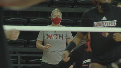 Louisville begins play in NCAA volleyball tournament bubble