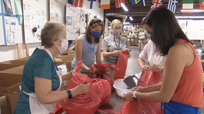 SOS donates medical supplies to 500 JCPS seniors (Aug. 2020)