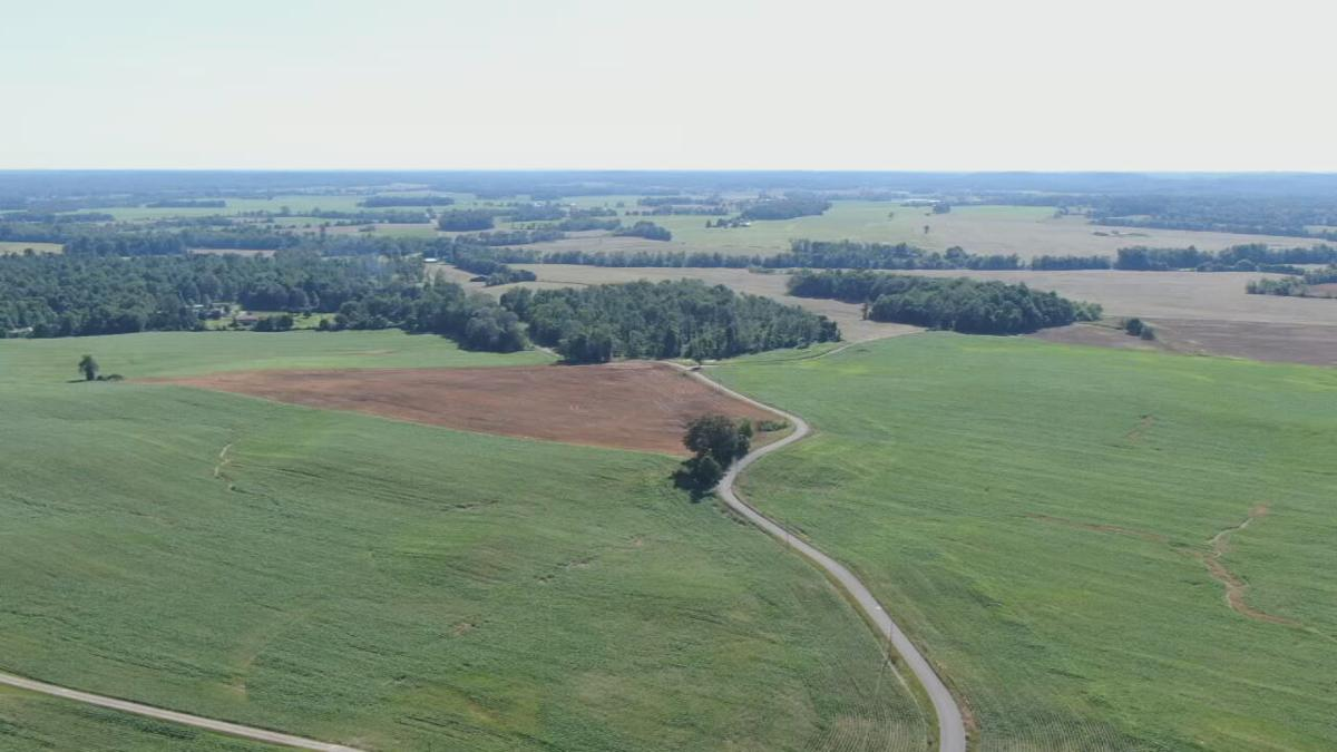Potential site of solar farm near Elizabethtown