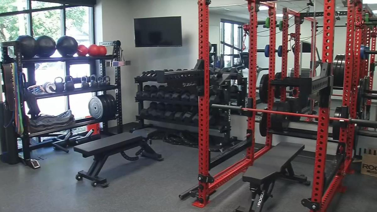 Clarksville Fire Station No. 1 on Stansifer Avenue - weight room