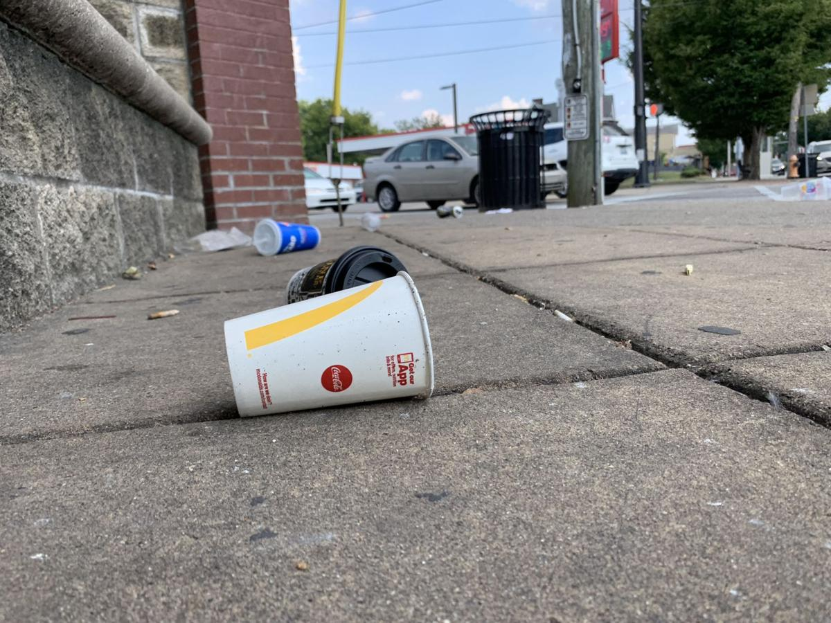 Bardstown Road Litter