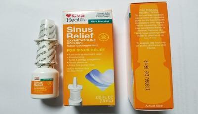 CVS branded nasal spray recalled because of possible contamination