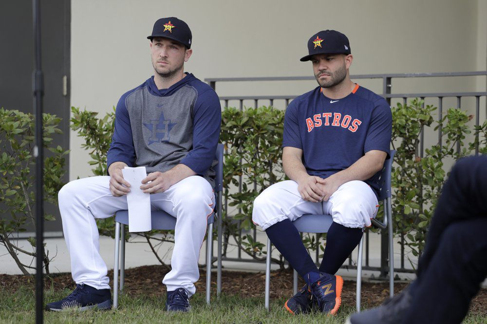 Alex Bregman and Jose Altuve