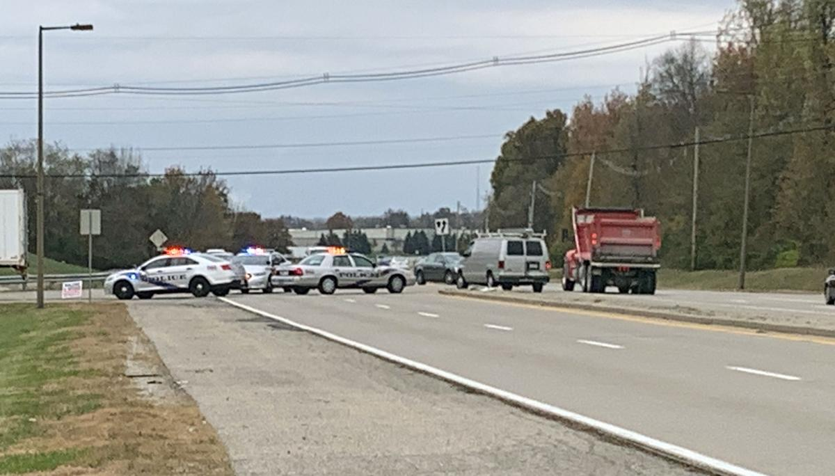 Serious crash on Greenbelt Highway, near Distribution Drive (Nov. 11, 2019)