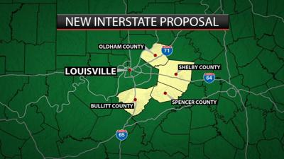 Proposed 50-mile interstate would provide new way around Louisville