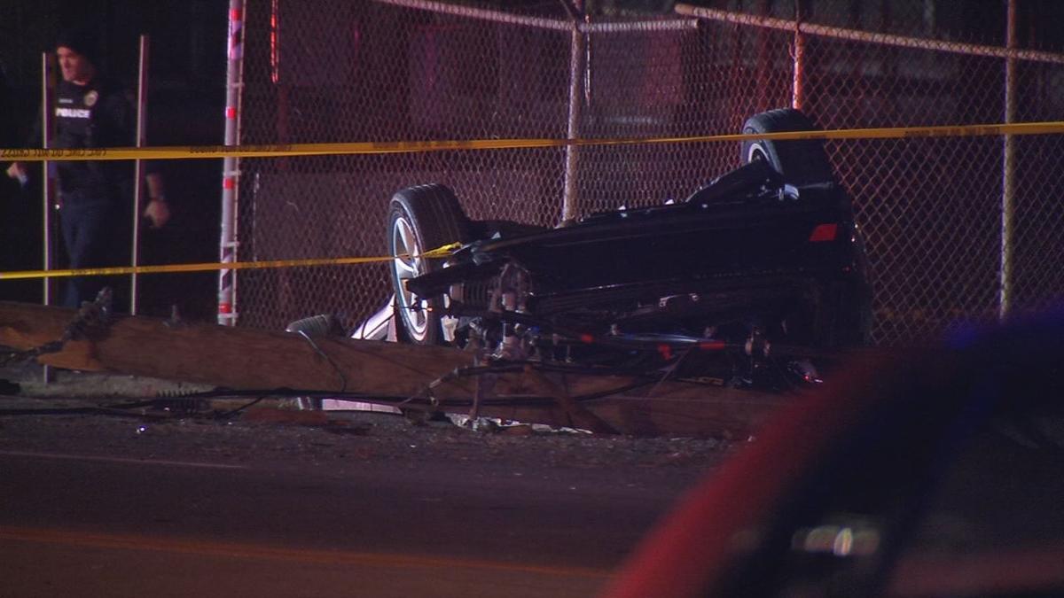 Fatal crash that killed Ki'Anthony Tyus (12-22-18)