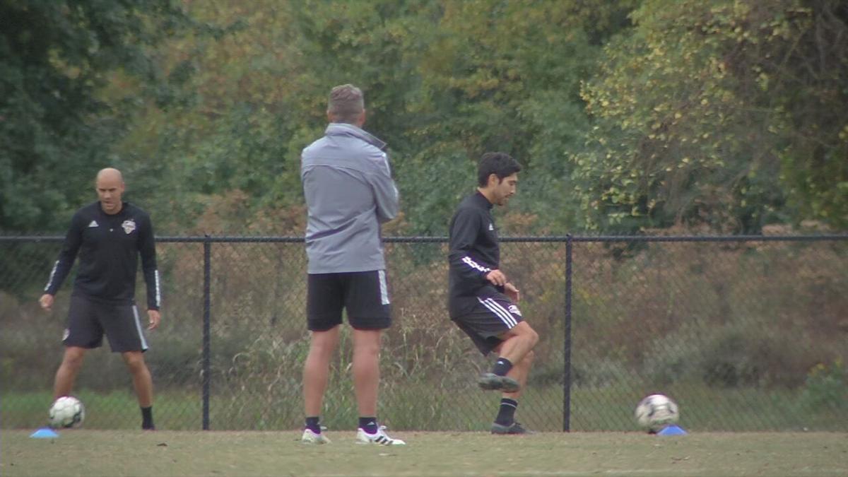 Louisville City FC practice 10-15-20