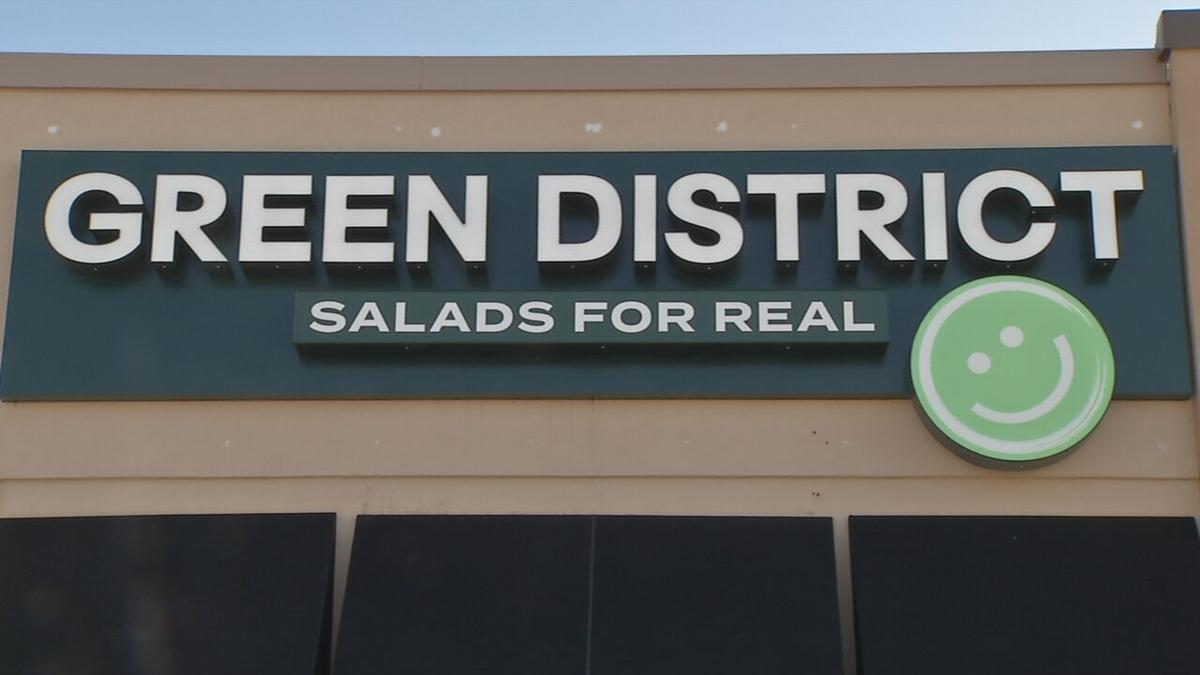 The Green District salad restaurant in Middletown