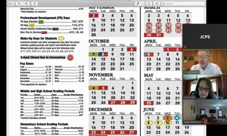 U Of L Academic Calendar 2021 JCPS board committee suggests 2019 20 calendar changes due to