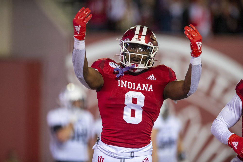 Indiana running back Stevie Scott III