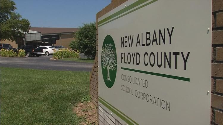 New Albany Floyd County Schools sign