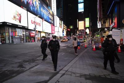 Times Square on April 29