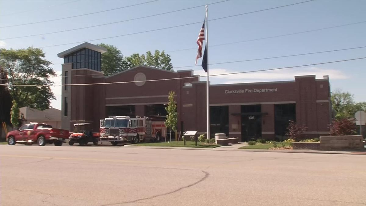 Clarksville Fire Station No. 1 on Stansifer Avenue - Exterior