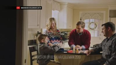 Andy Beshear seat to air first TV ad of gubernatorial campaign