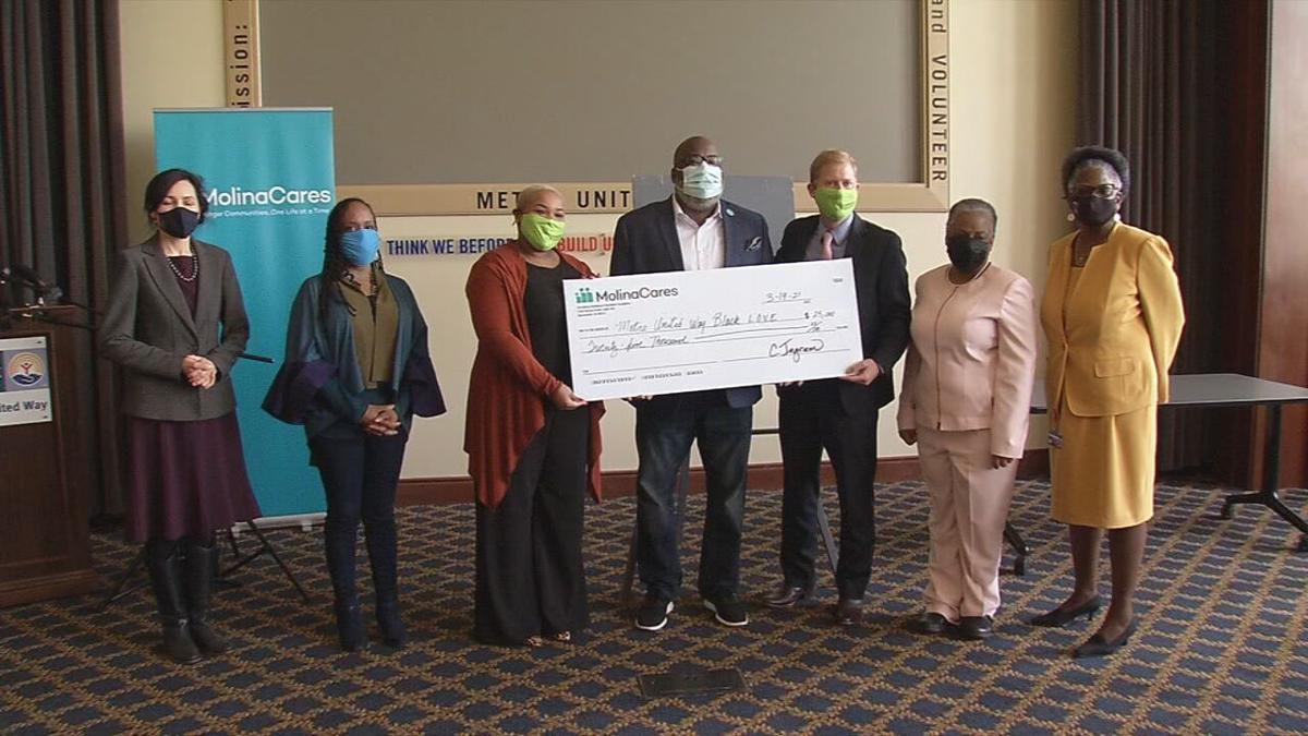 Passport Health Plan makes $25,000 donation to Black L.O.V.E.