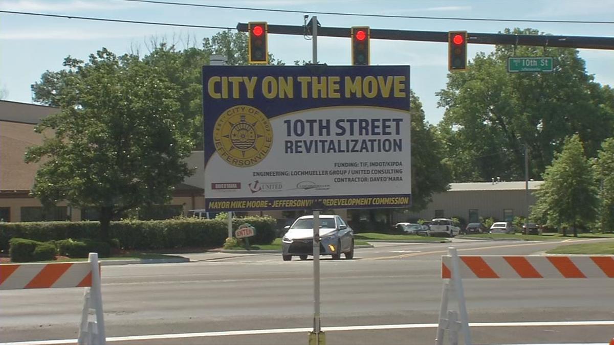 10th Street Revitalization Sign