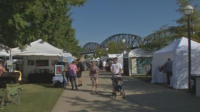 Hundreds of artists from around the country showcased during Big Four Bridge Arts Festival
