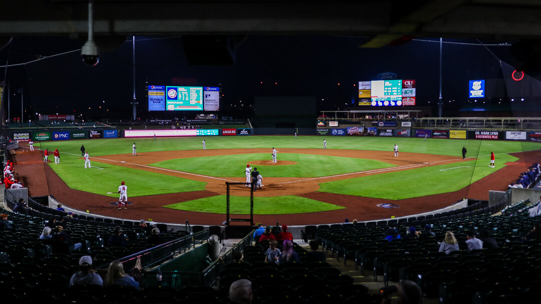 The Louisville Bats play the Columbus Clippers on Tuesday, May 4, 2021