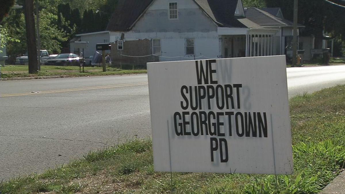 Georgetown PD Sign