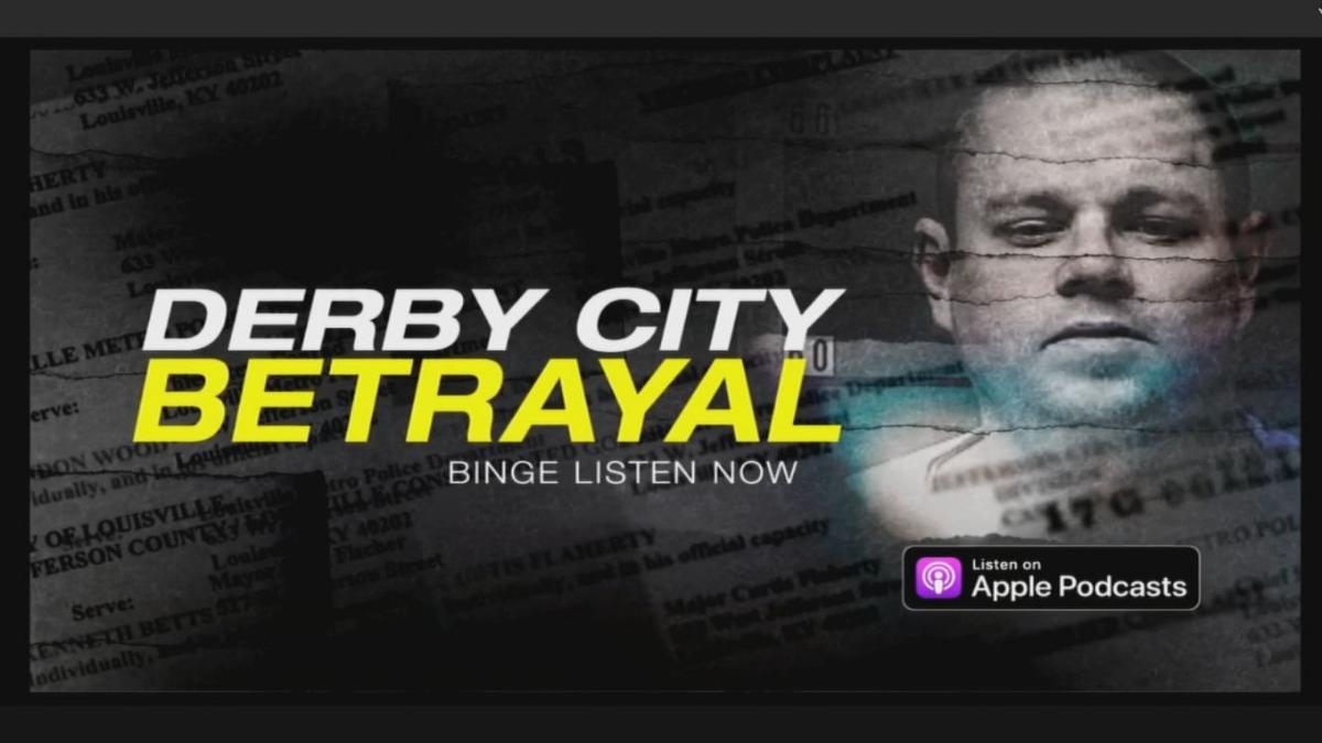 Derby City Betrayal (Fox News podcast) logo