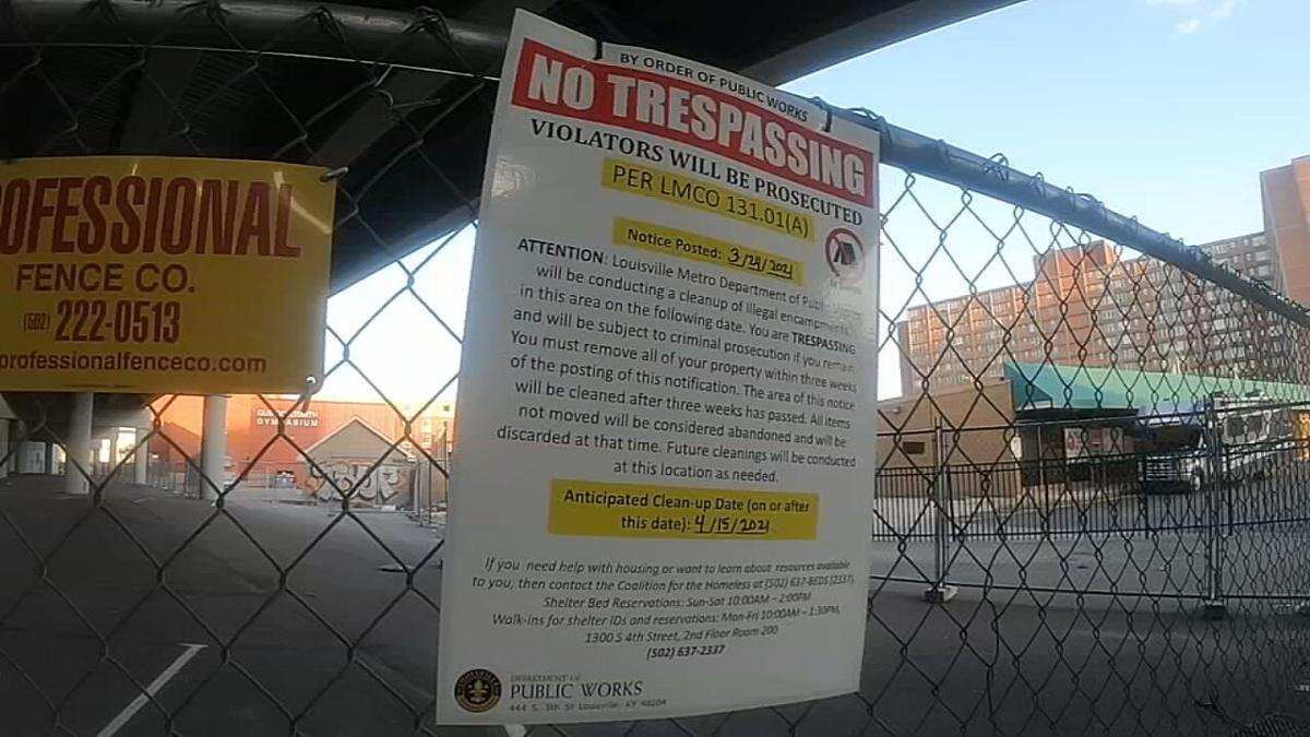 CITY CLEARING HOMELESS CAMPS-NOTICE SIGN.jpeg