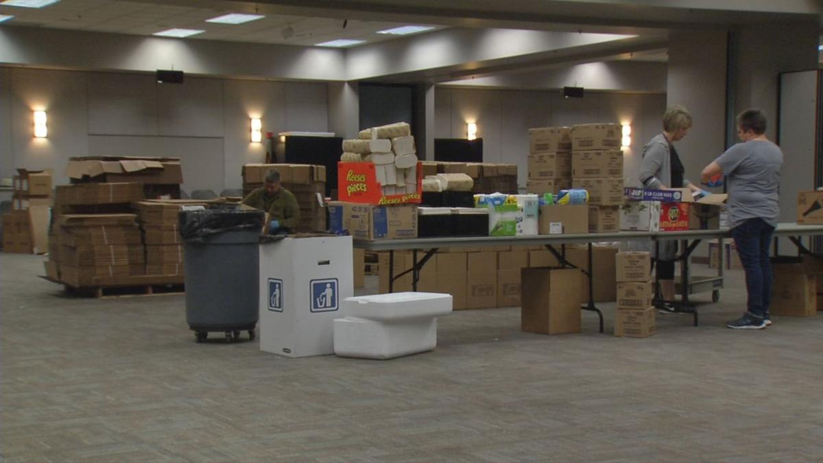 Southeast Christian Church COVID-19 urgent food and supplies drive