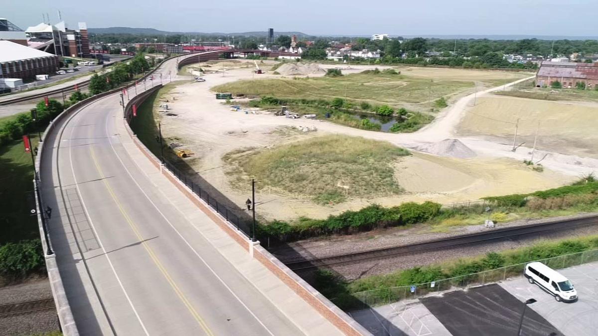 U of L KYT property drone shot