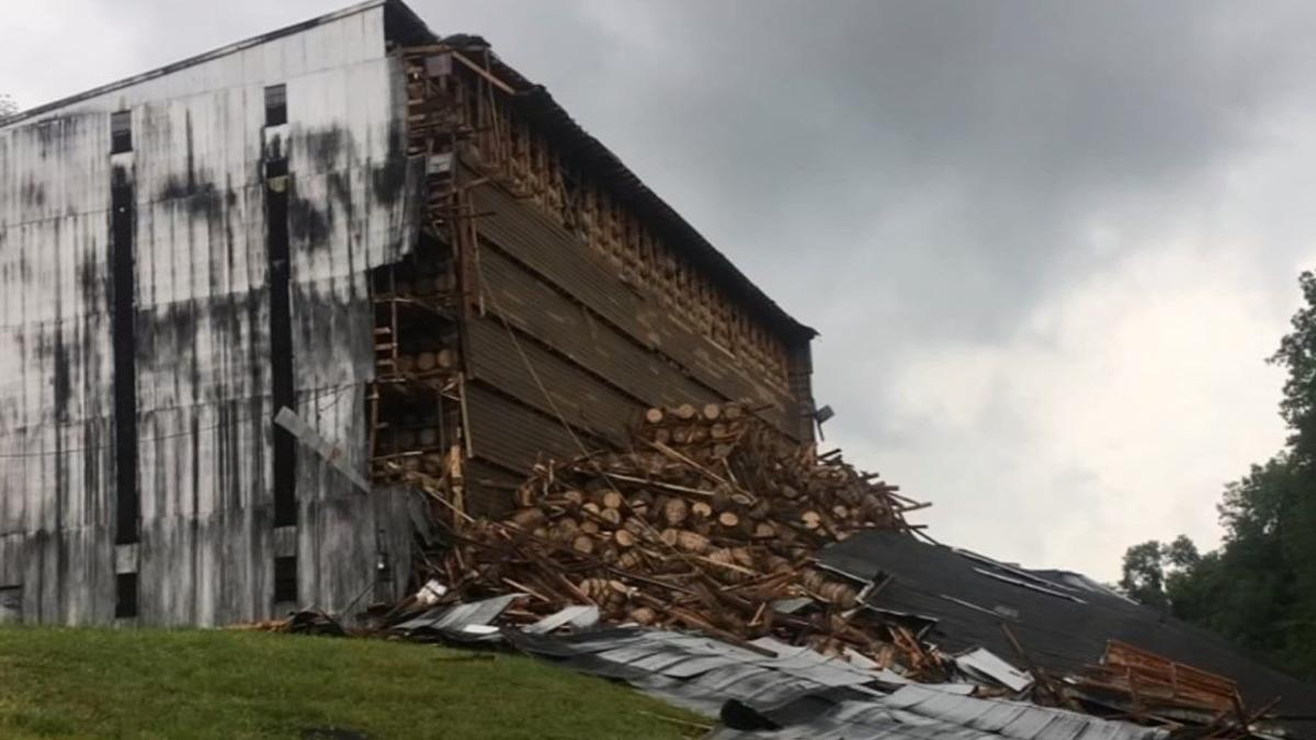 Bardstown distillery faces fines tied to fish kill after warehouse collapse