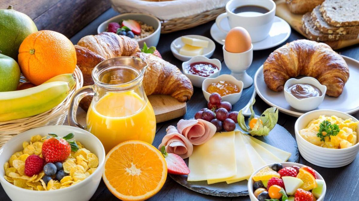Breakfast survey food