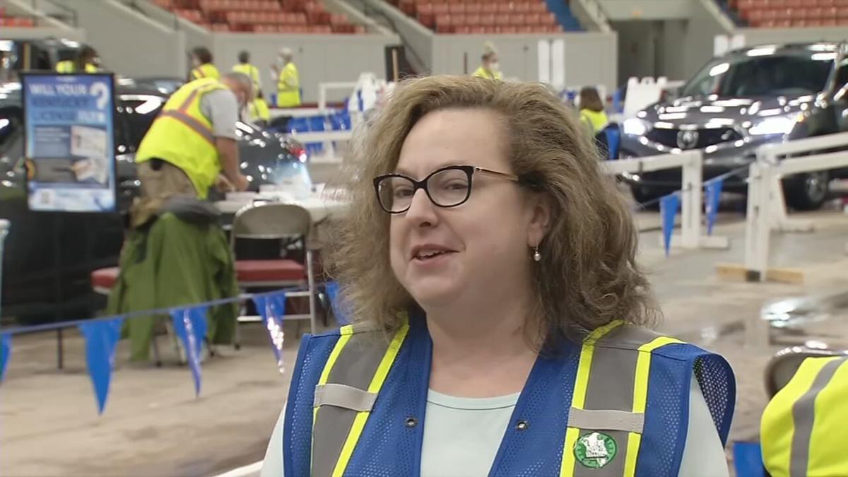 Dr. SarahBeth Hartlage, associate medical director for the Louisville Metro Health Department