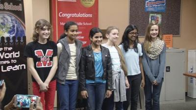 Students at Meyzeek Middle School win national app design contest