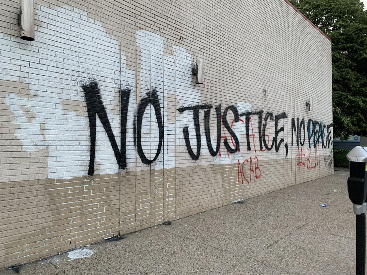 5-31-20, Graffiti in downtown Louisville