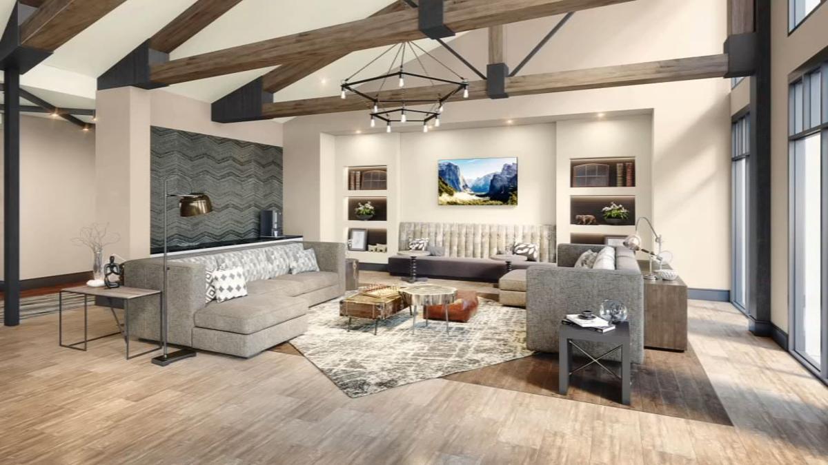 Upton Oxmoor Apartment Interior
