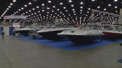 Louisville Boat Show Setup 2019