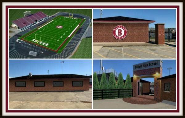 Ballard High School releases renderings of new stadium