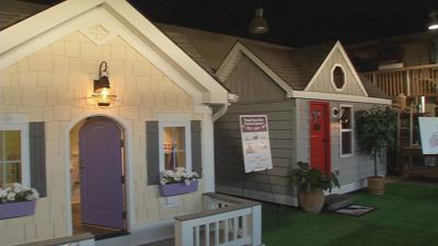 Dream playhouses delivered to 2 'Kosair Kids'