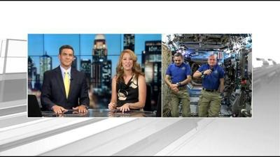 WDRB talks live to International Space Station crew