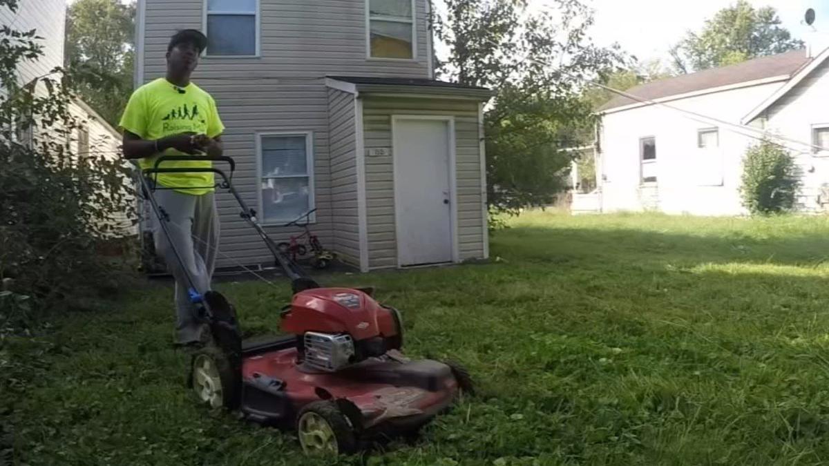 Raising Men Lawn Care Service mows lawns for free