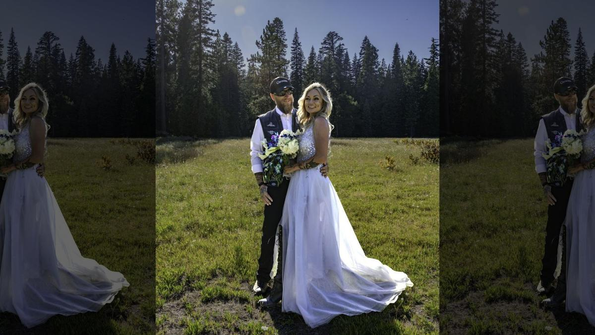 Biker Couple - Justin Reid and Victoria Hemenes Wedding