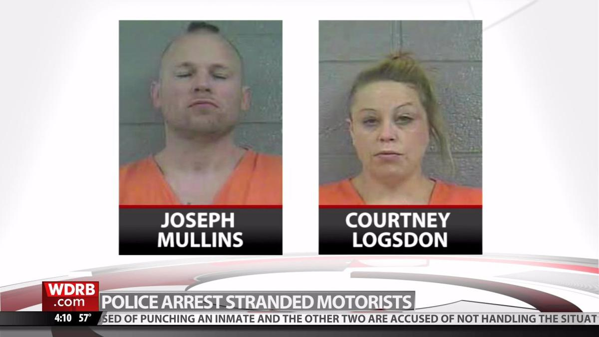 Police say 2 arrested in Bullitt County after running out of gas in stolen U-Haul truck